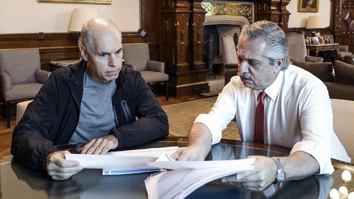 Horacio Rodríguez Larreta consideró que lo que hizo el presidente está mal y punto. (Foto: archivo)