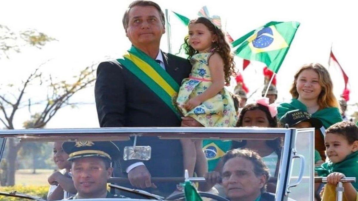 Marcha atrás de Bolsonaro en su pelea con la Corte Suprema de Brasil (Foto: cuenta oficial de Twitter de Jair Bolsonaro).