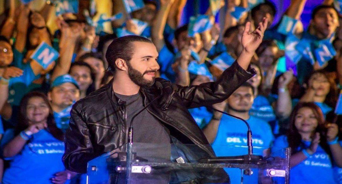 El presidente de El Salvador
