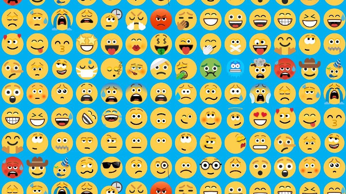 Crece el uso de emojis a la hora de chatear.