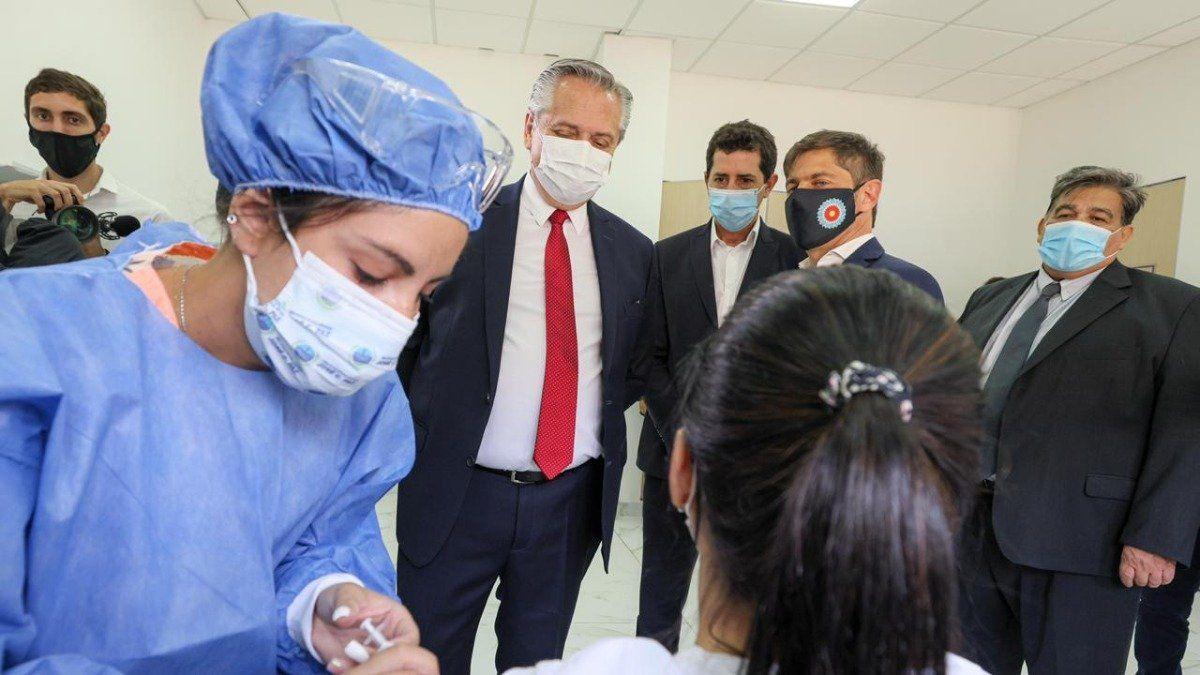 El Gobierno de Alberto Fernández apuesta a dar buenas noticias sobre vacunas y llegar a las Elecciones2021 con inmunidad de rebaño. (Foto: Archivo Presidencia)