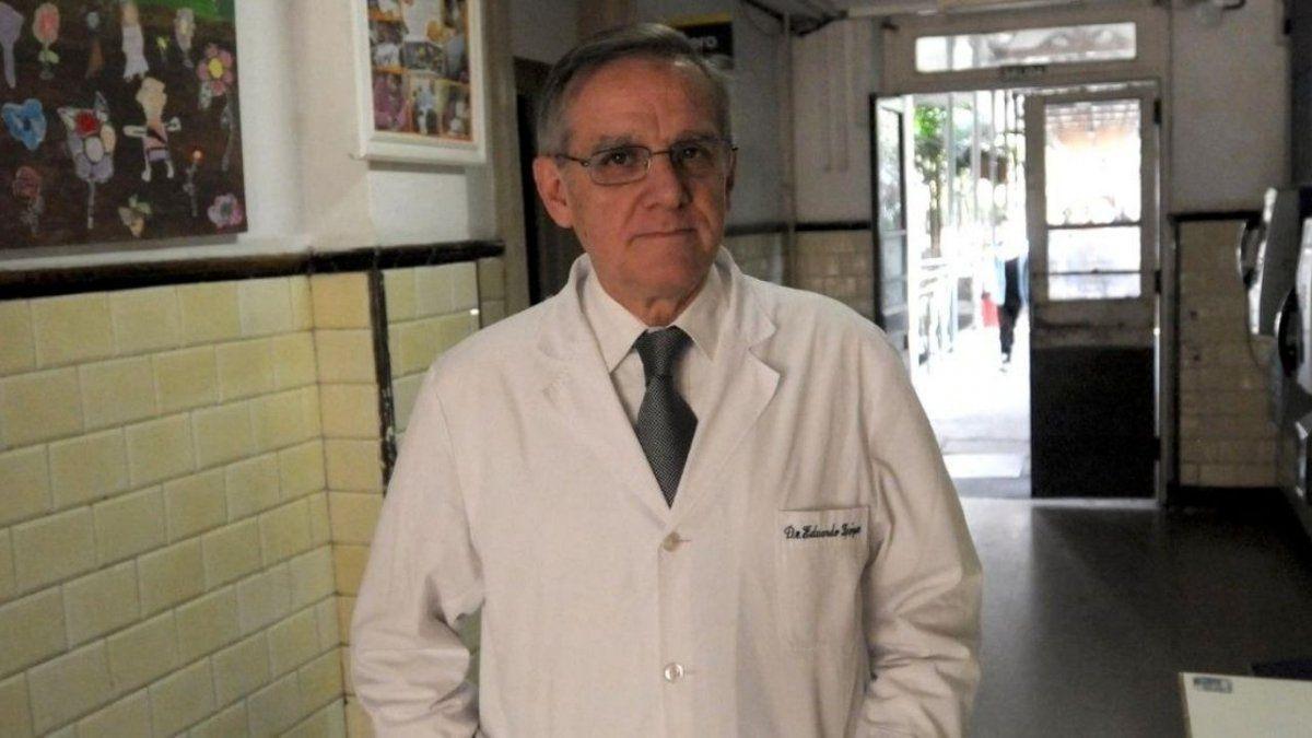 Eduardo López es uno de los infectólogos que asesora al Gobierno desde el inicio de la pandemia.