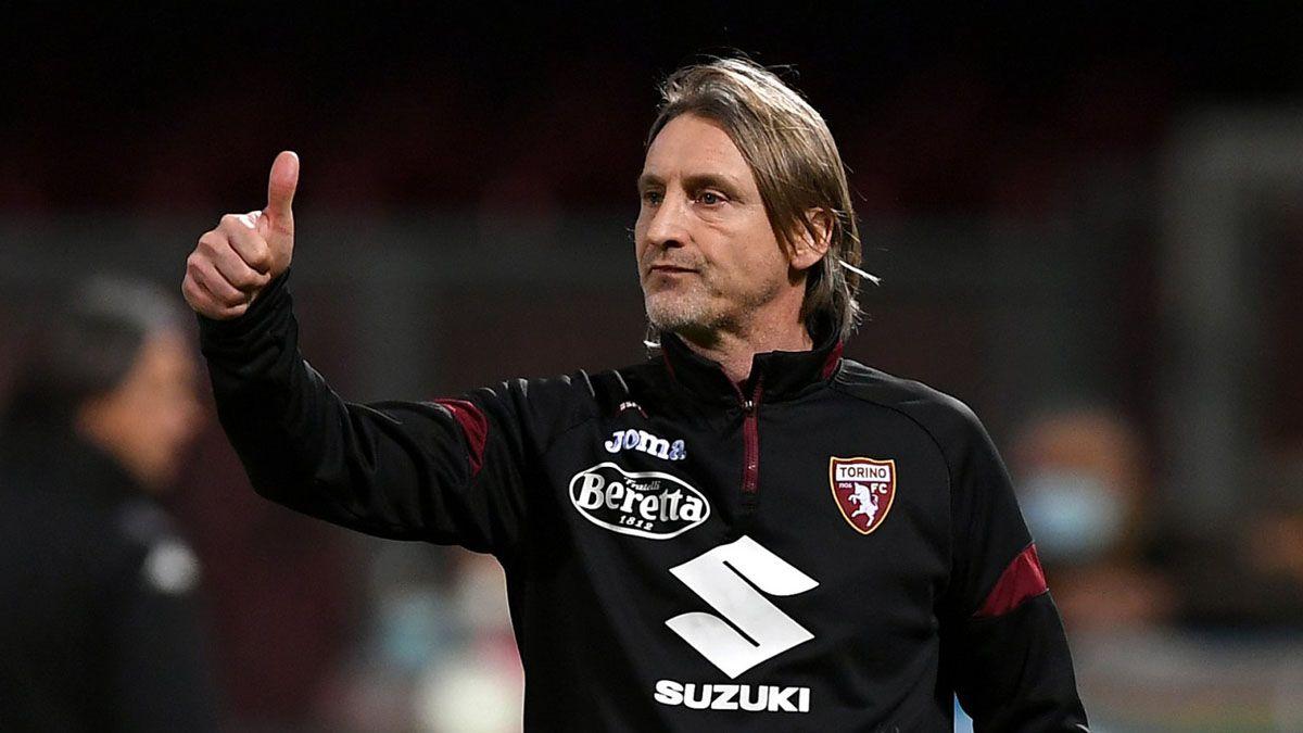 Davide Nicola tuvo una extensa carrera como futbolista y entrenador. Su última experiencia fue este año al frente de Torino.