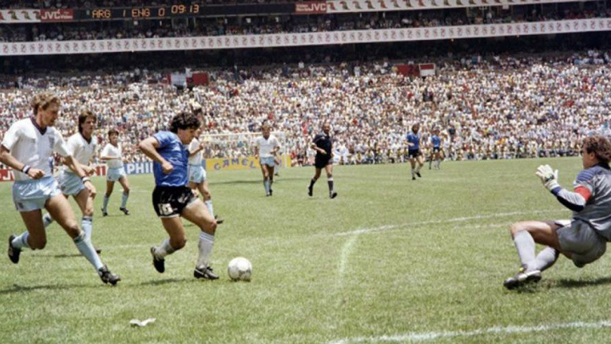 Diego Maradona y el mejor gol de todos los tiempos.