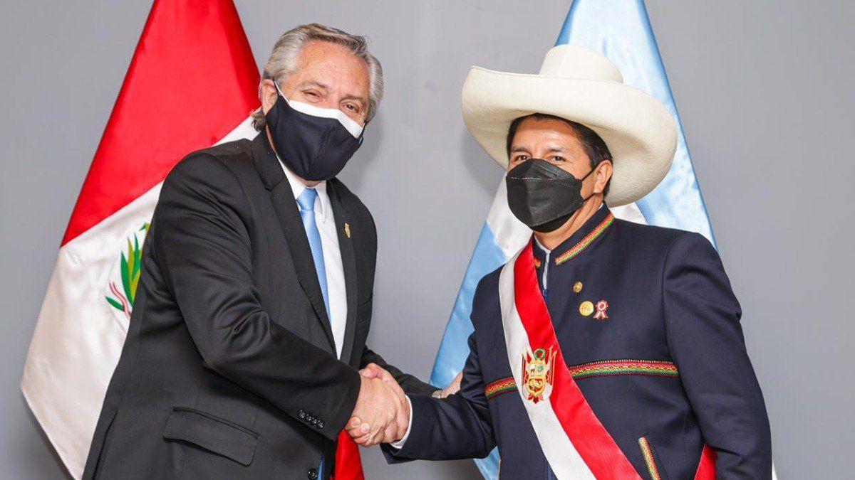 El presidente Alberto Fernández mantuvo un encuentro bilateral con su par peruano