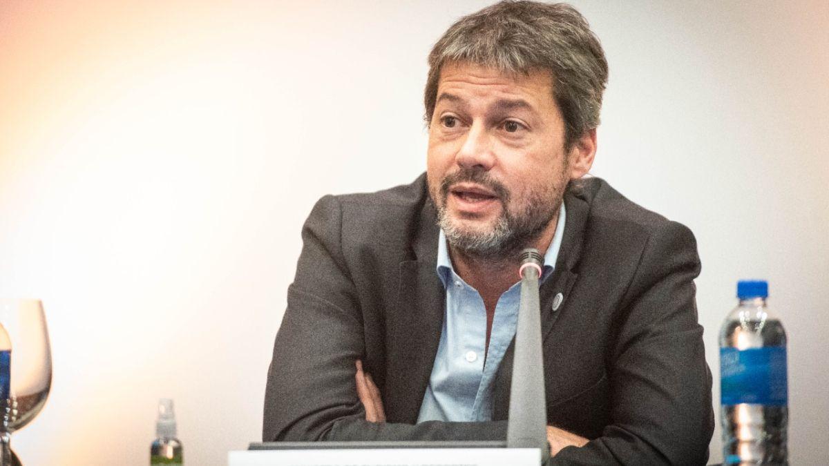 Matías Lammens se refirió al cumplimiento del aforo en los estadios y el posible regreso del público visitante. (Foto: archivo)