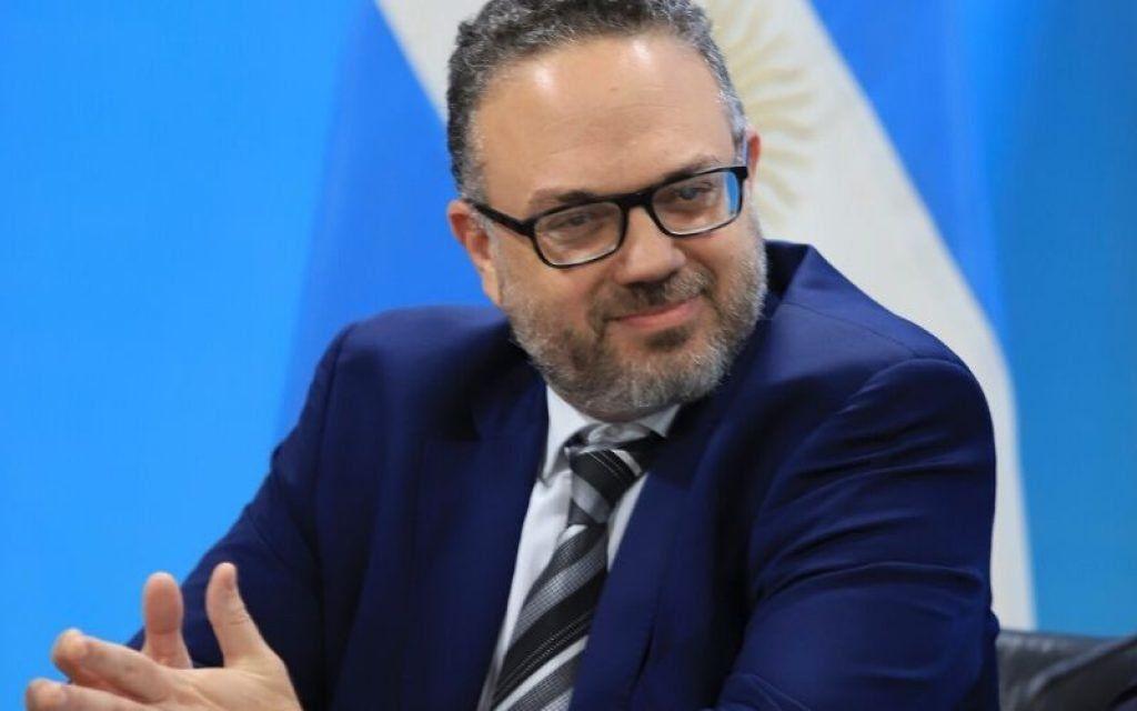 El Ministro de Desarrollo Productivo de la Nación
