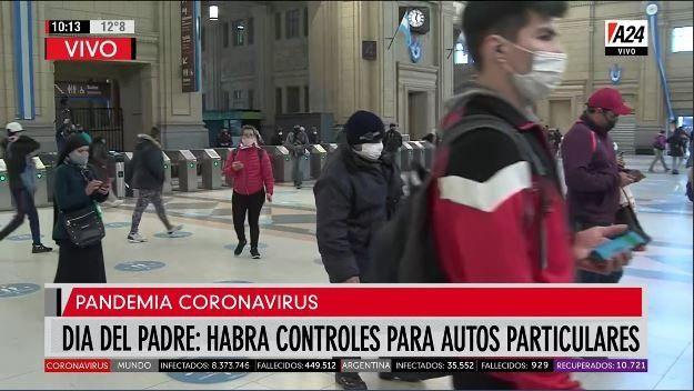 Se reforzarán los controles de transporte el domingo por el Día del Padre