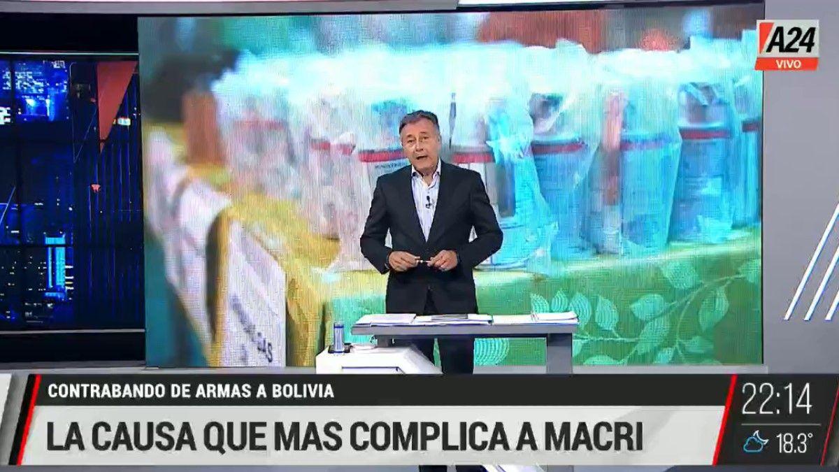 La investigación que muestra la entrega de municiones a Bolivia y complica a Mauricio Macri.