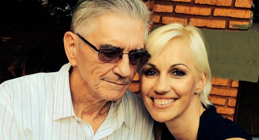 Ingrid Grudke pudo llegar a Misiones para despedir a su padre: Lo vi y al día siguiente se fue