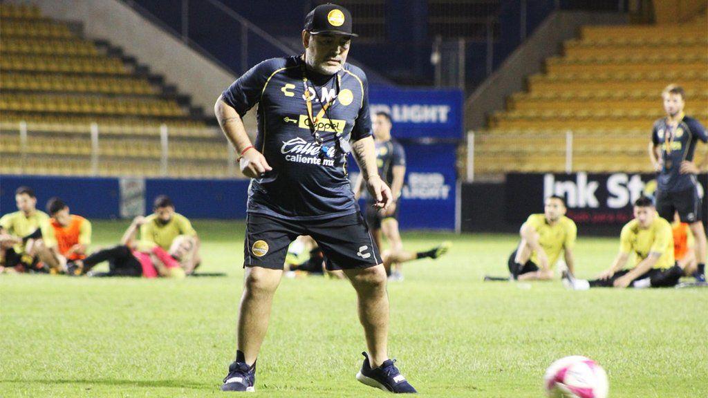 El gesto de Diego Maradona en beneficio de los damnificados por la tormenta en Sinaloa