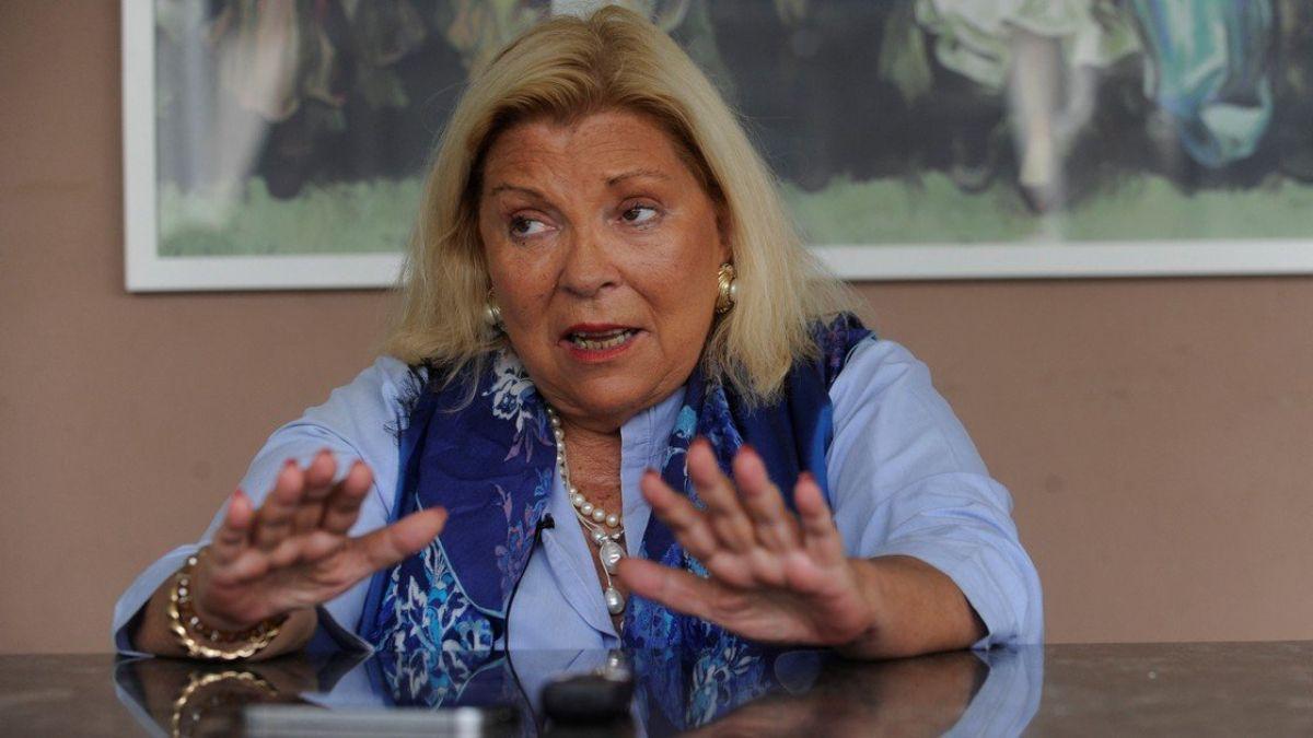 Elisa Carrió se mostró de acuerdo con la posible candidatura de Facundo Manes en las elecciones.
