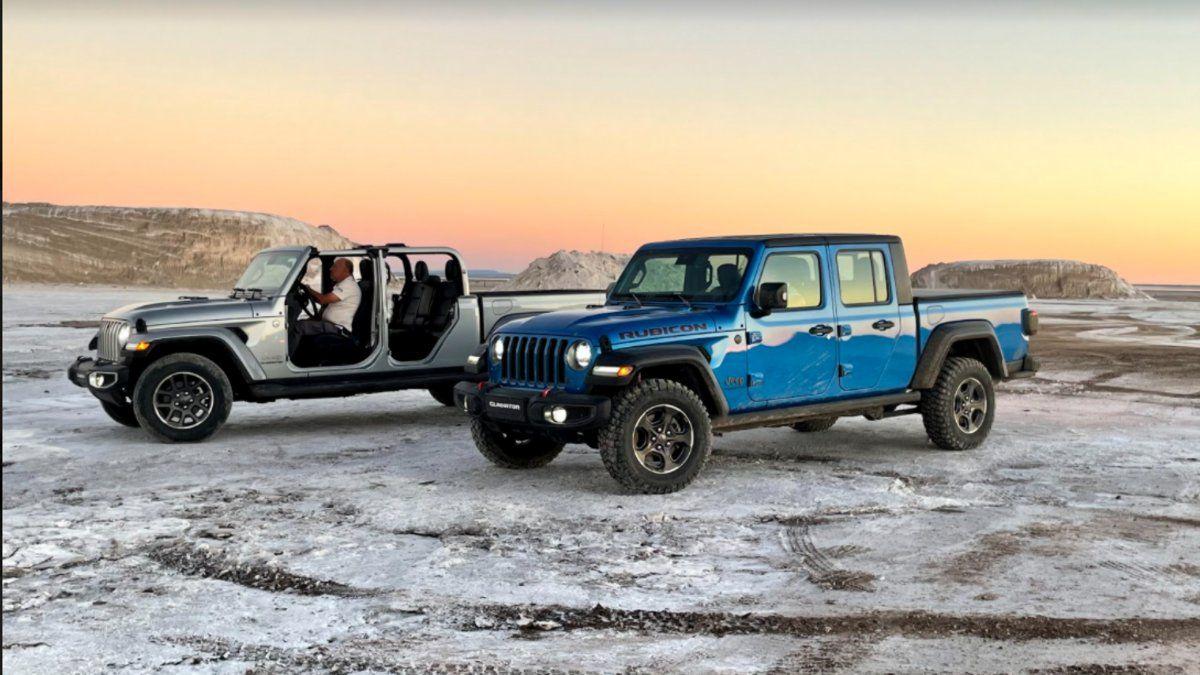 La pick-up Jeep Gladiator buscará tener el mismo éxito que el Wrangler