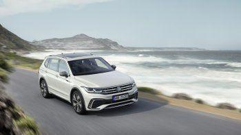 Volkswagen presenta la renovación del Tiguan Allspace