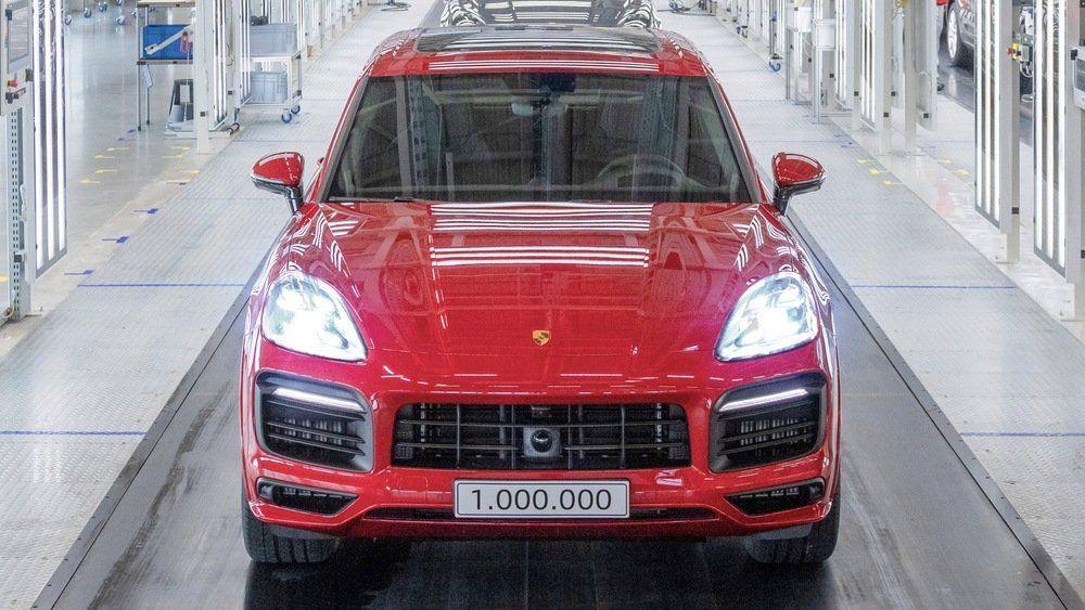 Porsche fabrica el Cayenne un millón