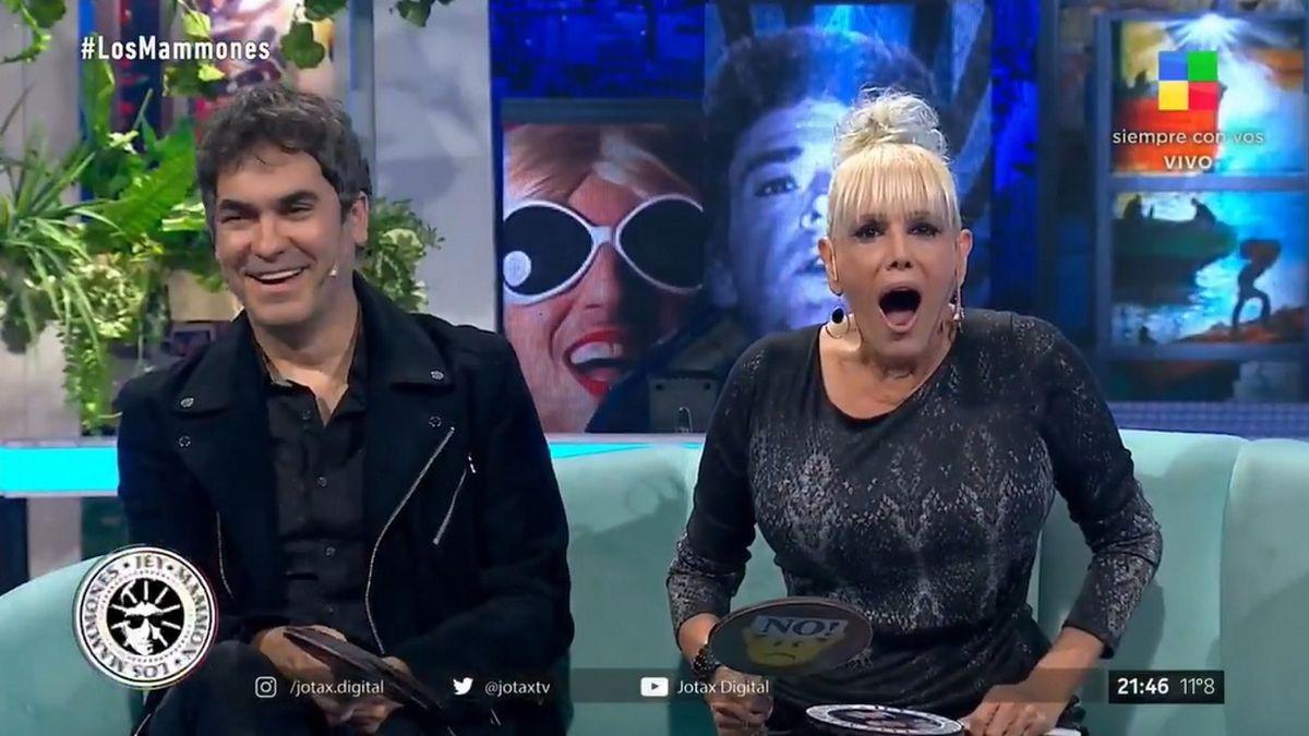 Valeria Lynch y Mariano Martínez se agarraron de los pelos en un programa en vivo
