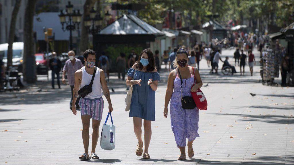 Barcelona: 4 millones de personas en un confinamiento voluntario ante el rebrote de Covid-19