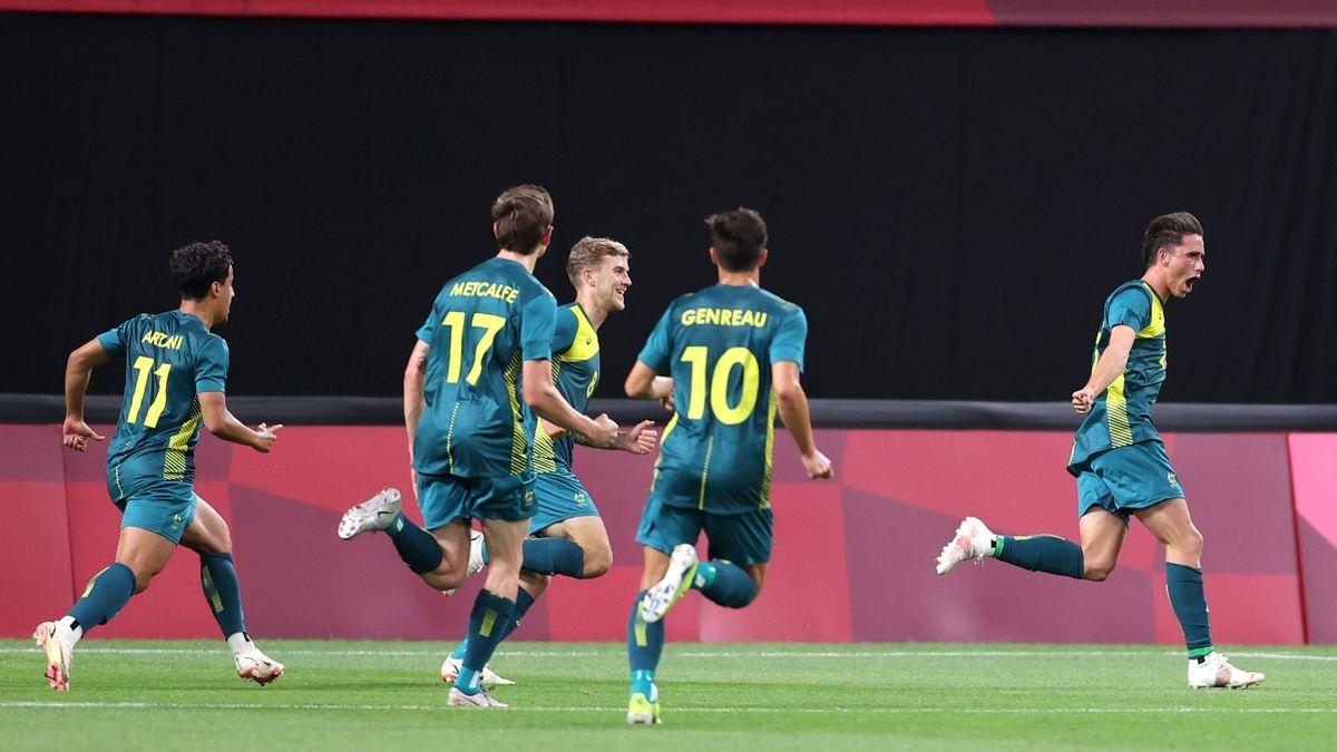 Argentina perdió en el debut ante Australia y dejó una mala imagen en los Juegos Olímpicos.