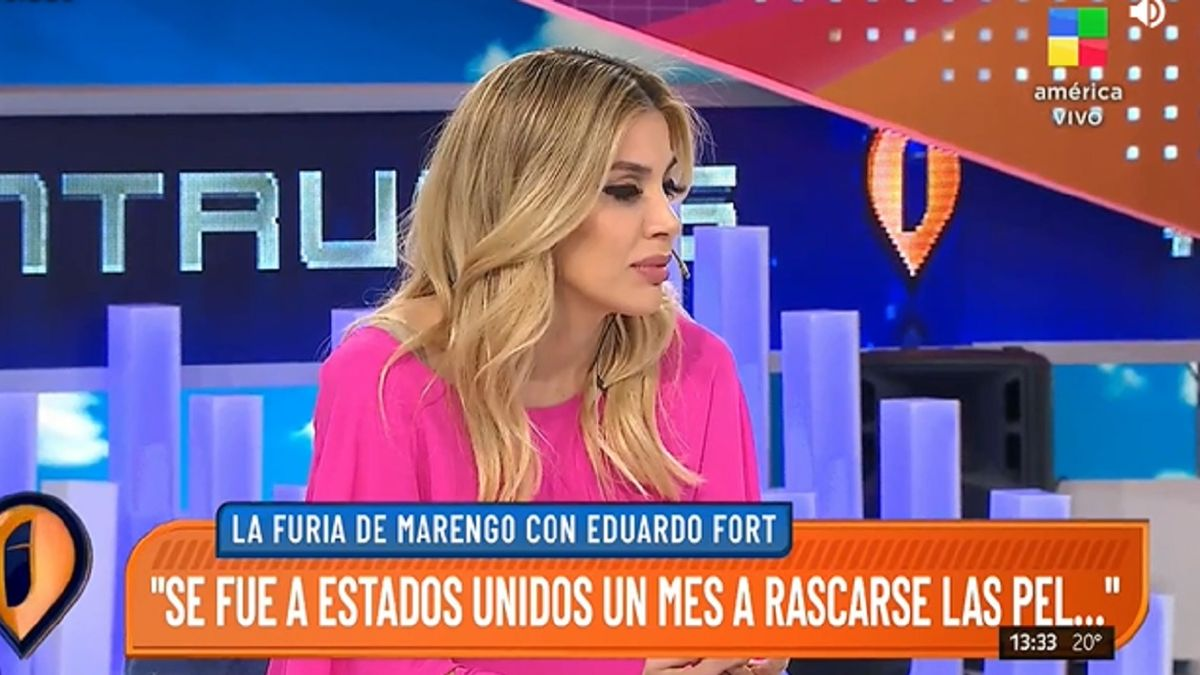 Virginia Gallardo le recordó a Eduardo Fort su fuerte tuit