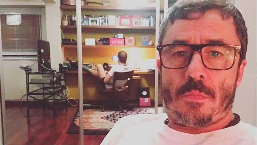 Pablo Granados escribió una canción inspirada en los cuadernos de Oscar Centeno