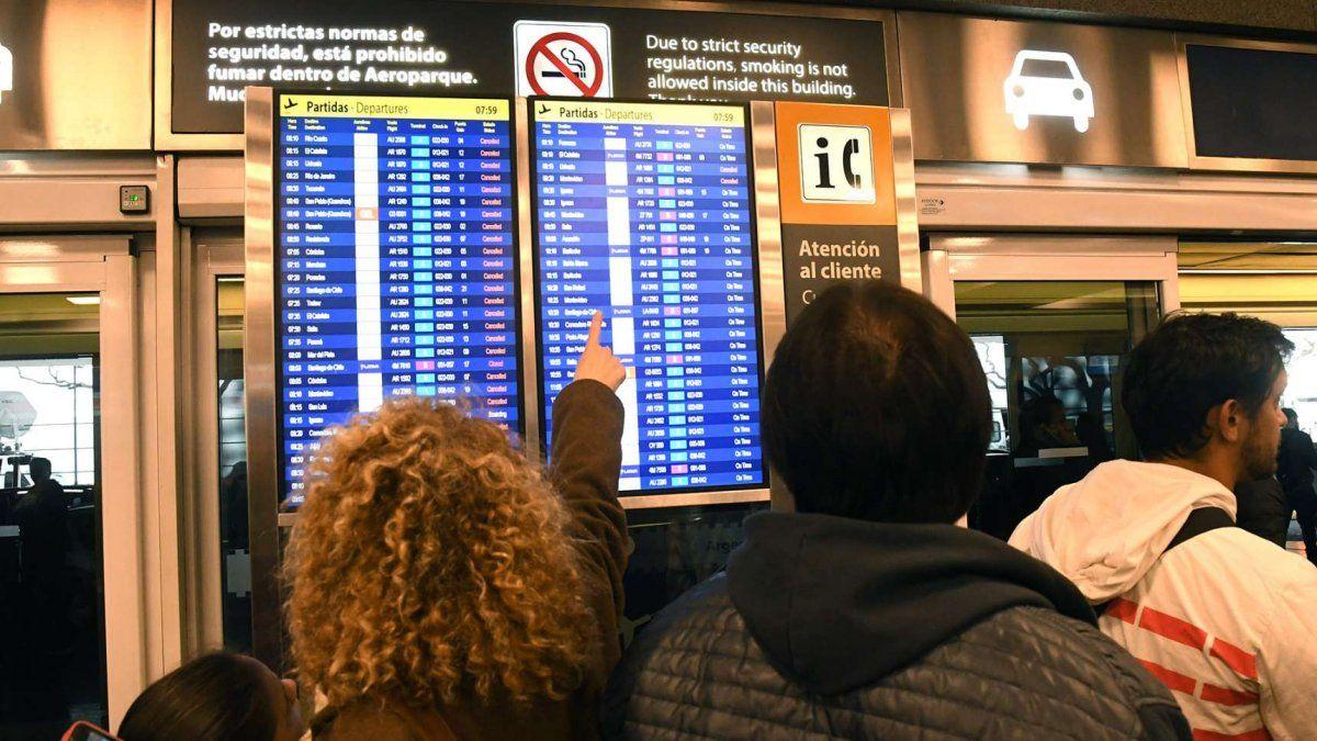 160 personas aisladas por el pasajero que no respetó el aislamiento luego de volver de Perú (Foto: Telam).