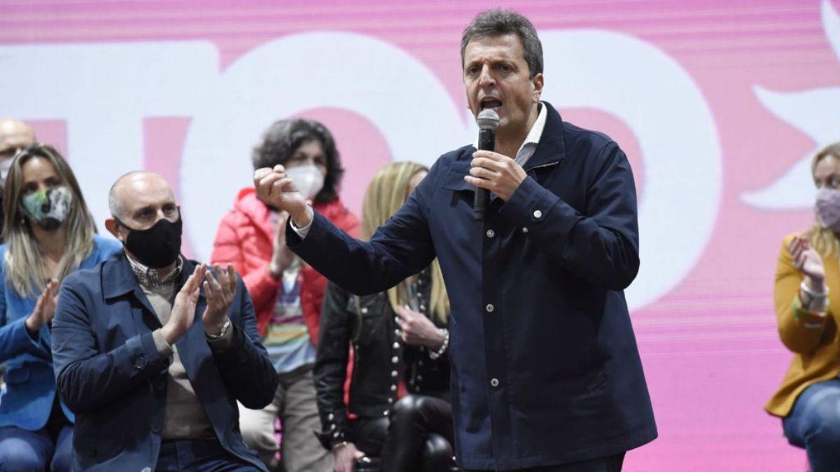 Sergio Massa contó la propuesta que le hizo a Alberto Fernández para después de las elecciones. (Foto: archivo)