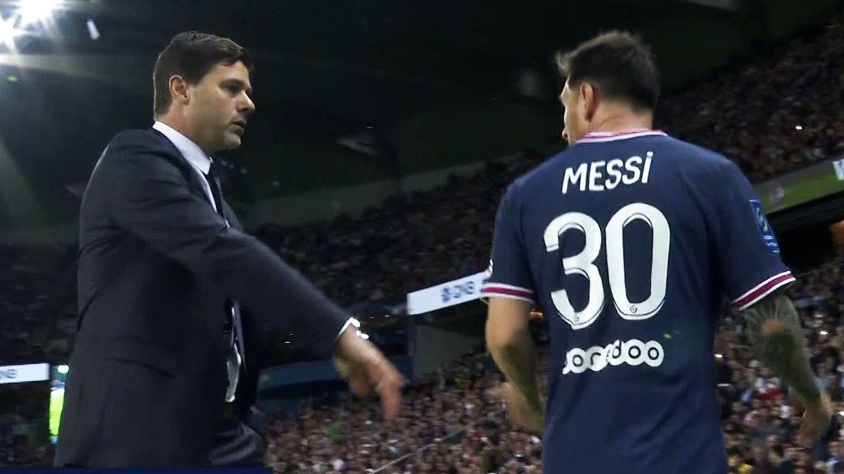 Pochettino y el desplante de Messi.