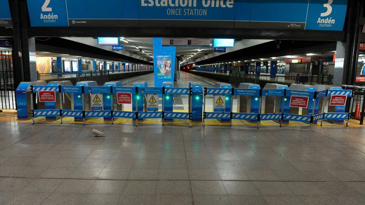 Losconductores de trenesagrupados en La Fraternidadrealizarán el próximo jueves un paro nacional de 24 horas