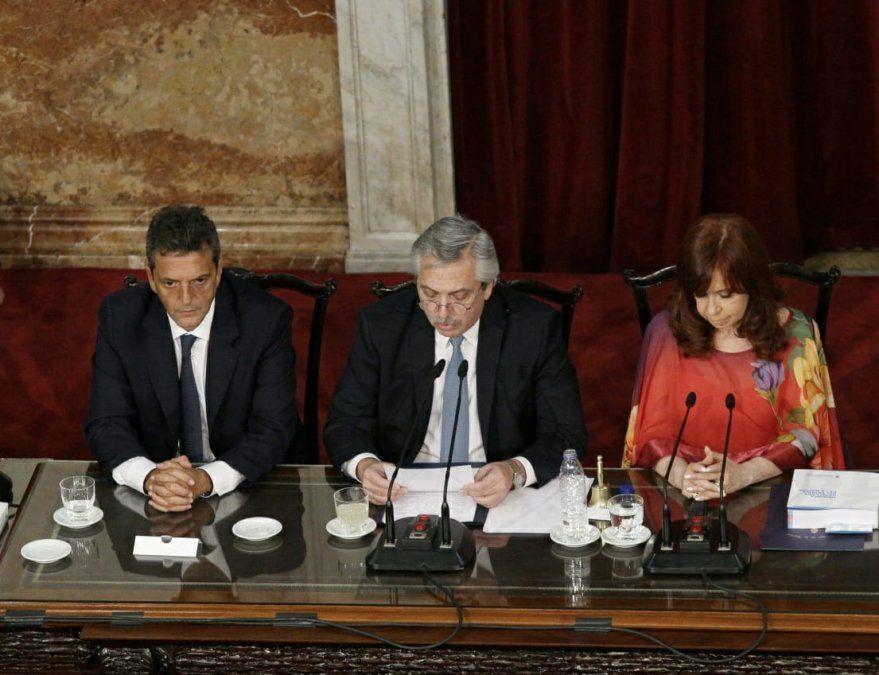 Alberto en el Congreso: duro con el gobierno de Macri y anuncios sobre Justicia, AFI, deuda y aborto