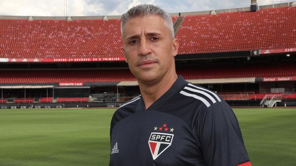 Hernán Crespo y su San Pablo venían en un mal momento futbolístico.