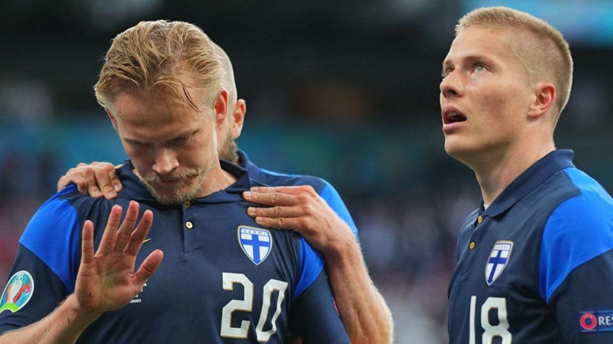 Joel Pohjanpalo no gritó el histórico gol de Finlandia por respeto a Christian Eriksen.