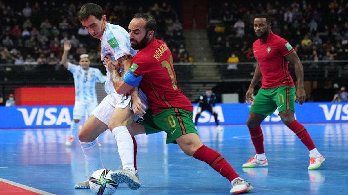 Mundial de Futsal: Argentina perdió 2 a 1 y Portugal se consagró campeón