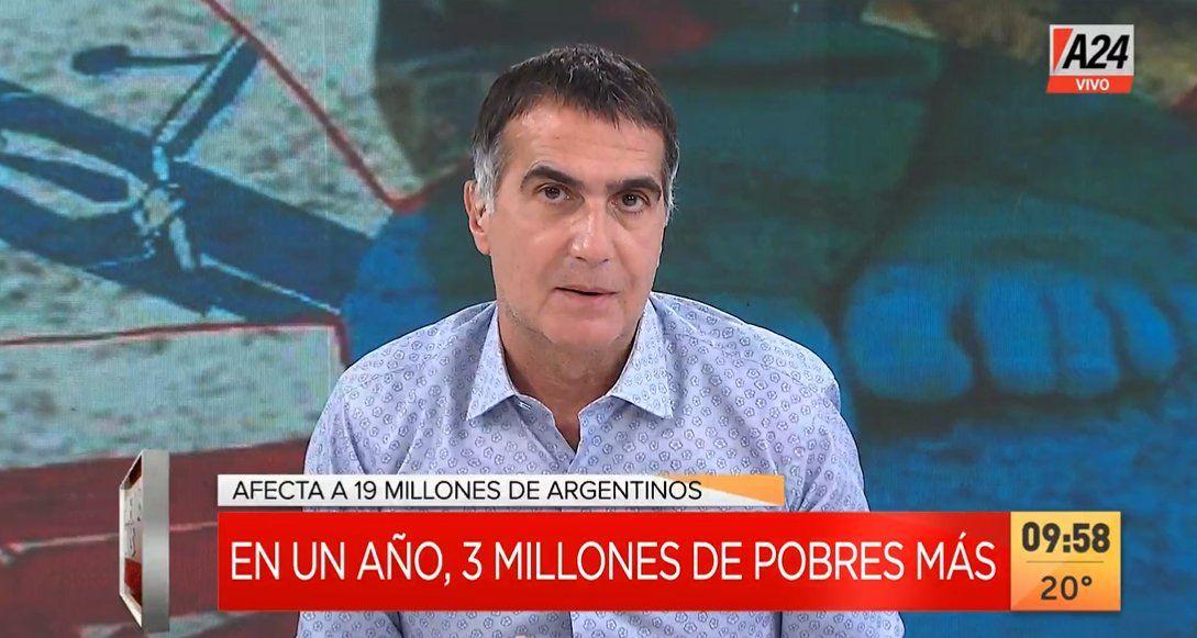 Antonio Laje responsabilizó a Cristina Kirchner