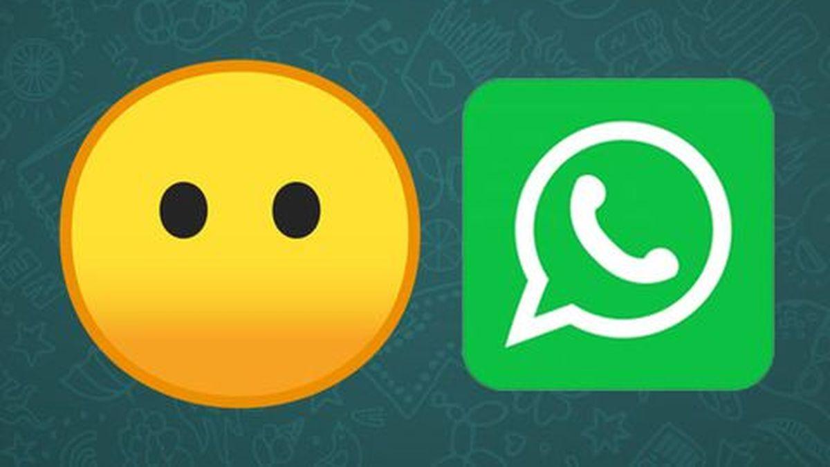 WhatsApp: El verdadero significado del emoji de cara sin boca