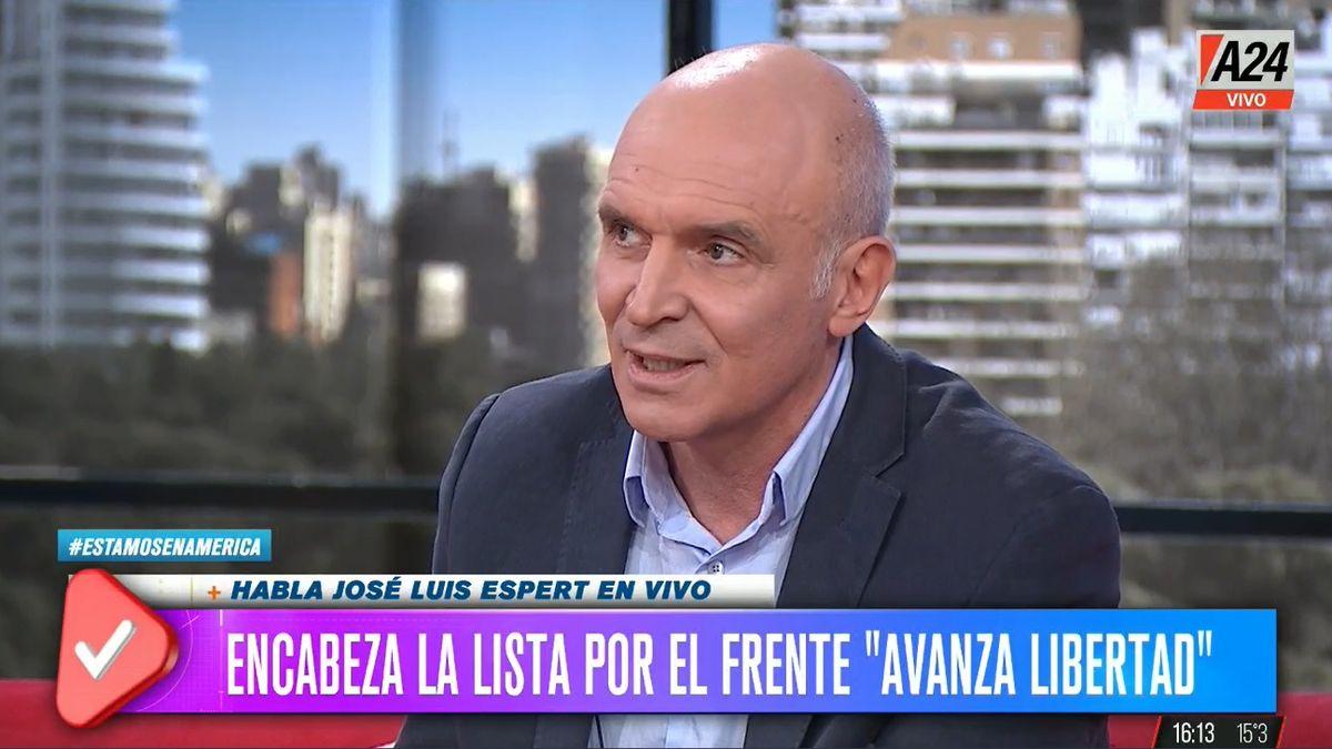 El economista José Luis Espert