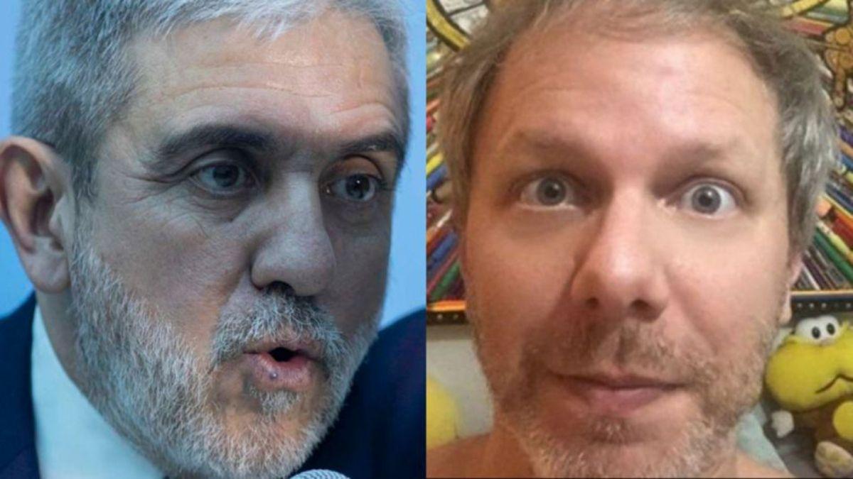 Fuerte cruce entre Aníbal Fernández y Nik en las redes sociales: Tengo miedo