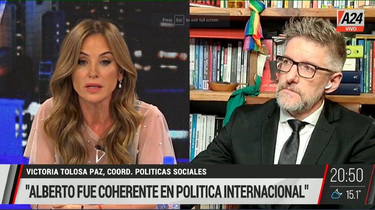 Victoria Tolosa Paz: Claro que hay democracia en Venezuela