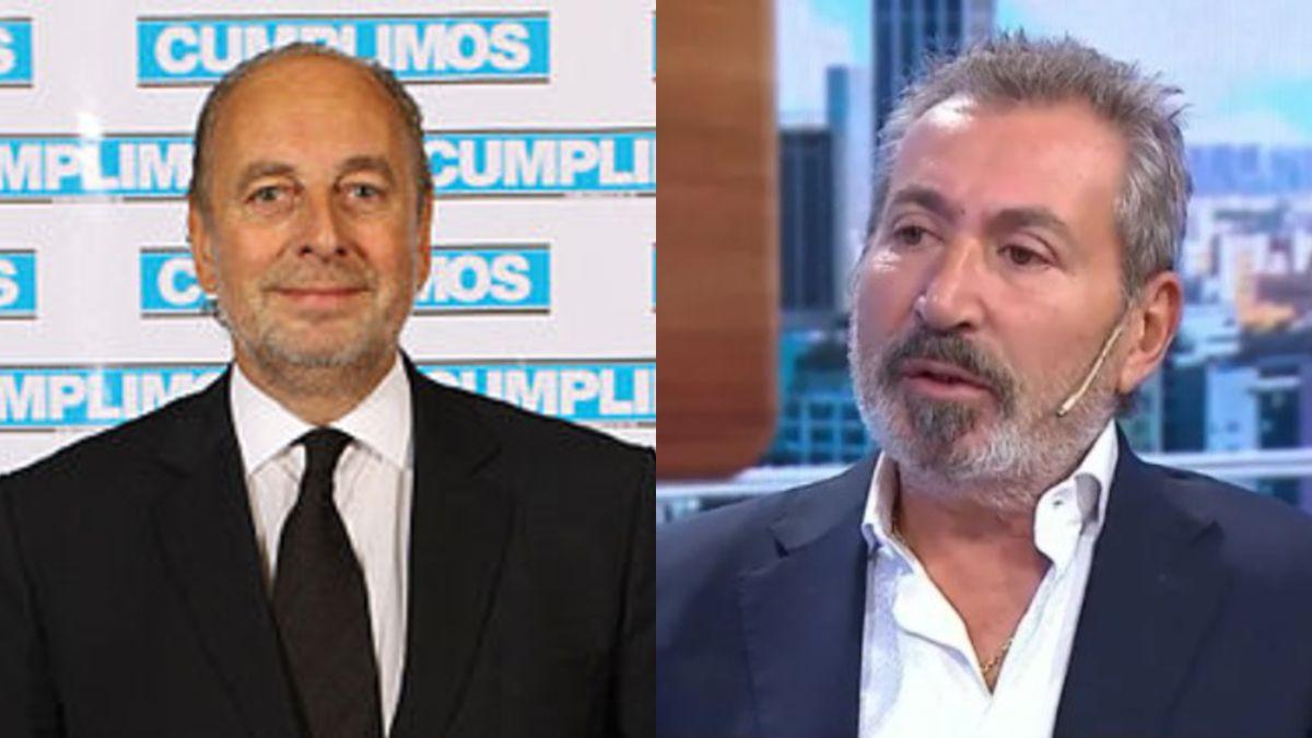 José Luis Manzano y Daniel Vila