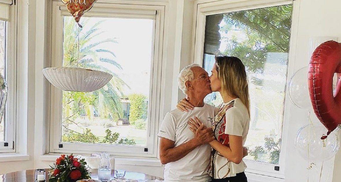 El emotivo saludo de cumpleaños de Eduardo Costantini a Elina Fernández