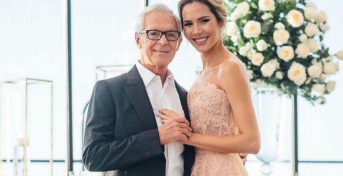 Elina Fernández se refirió a las críticas por su boda con Eduardo Costantini: Los malos comentarios los...