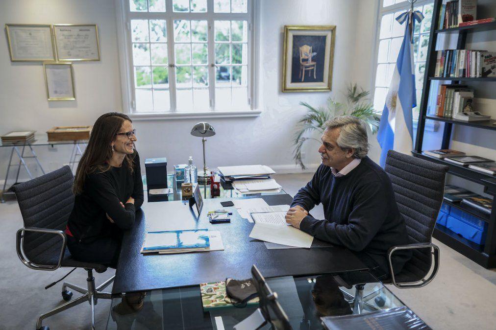 El gesto de Alberto Fernández con el feminismo tras la designación de Manzur