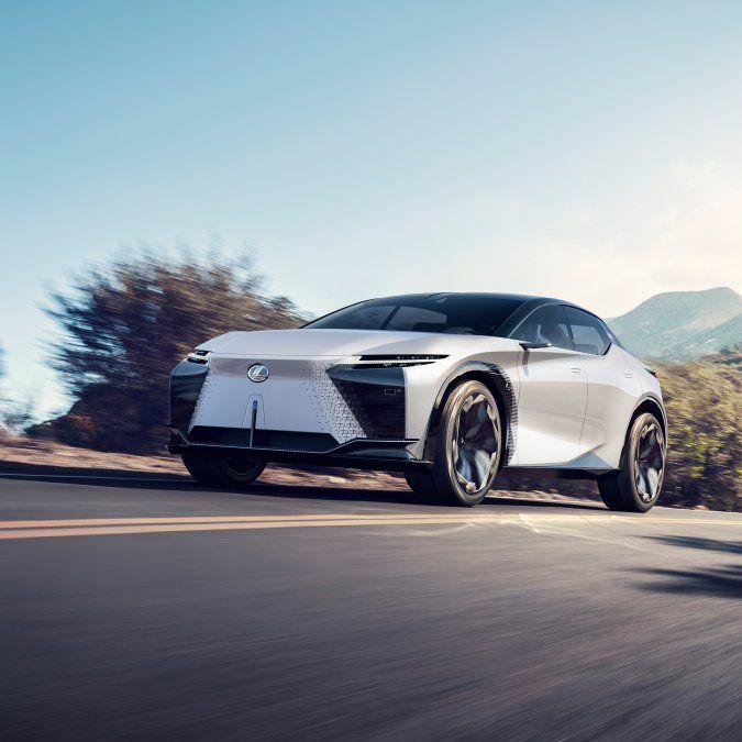 El nuevo concepto LF-Z Electrified incorpora el rendimiento de conducción