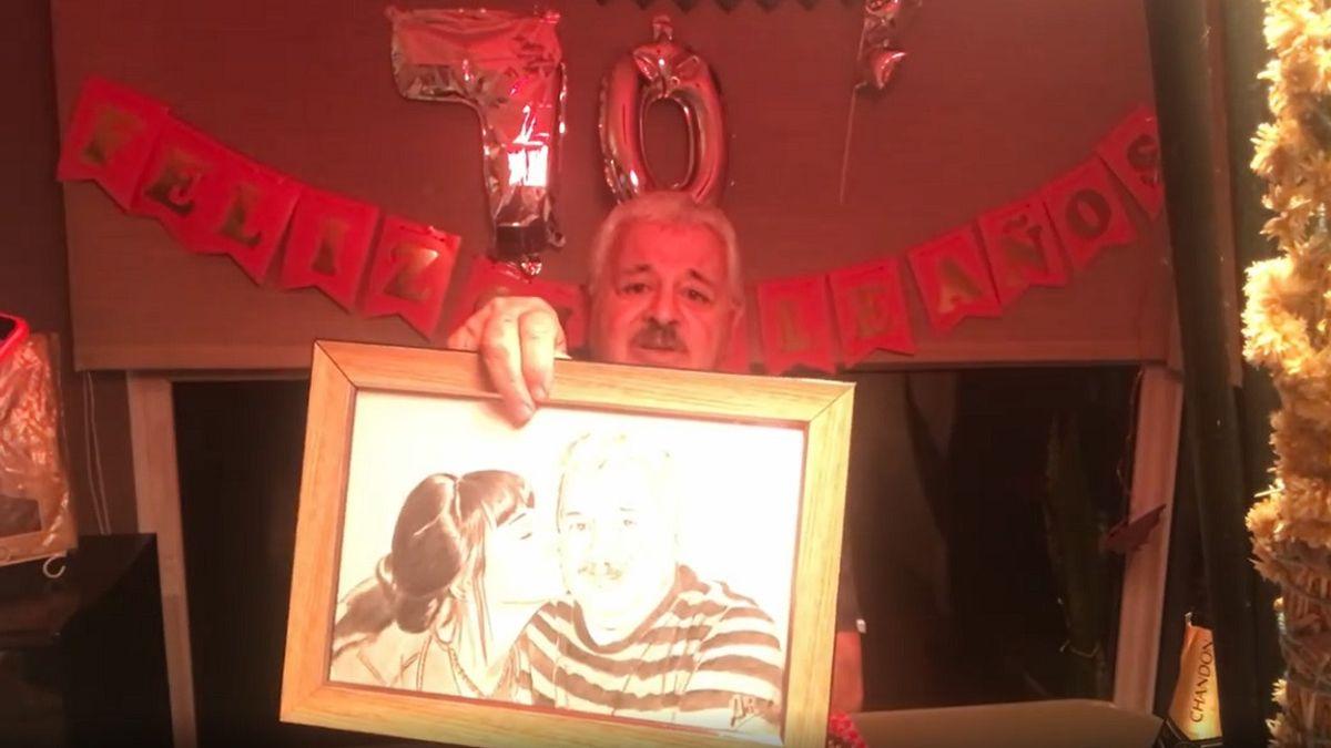 Tití Fernández cumplió 70 años y recordó a su hija Soledad
