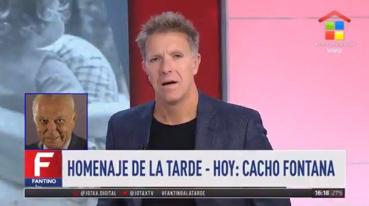 Cacho Fontana: Estuve treinta años sin hablar con Pinky