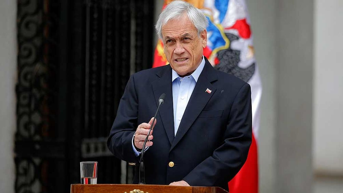 Sebastián Piñera ratifica la expansión de la plataforma continental chilena.