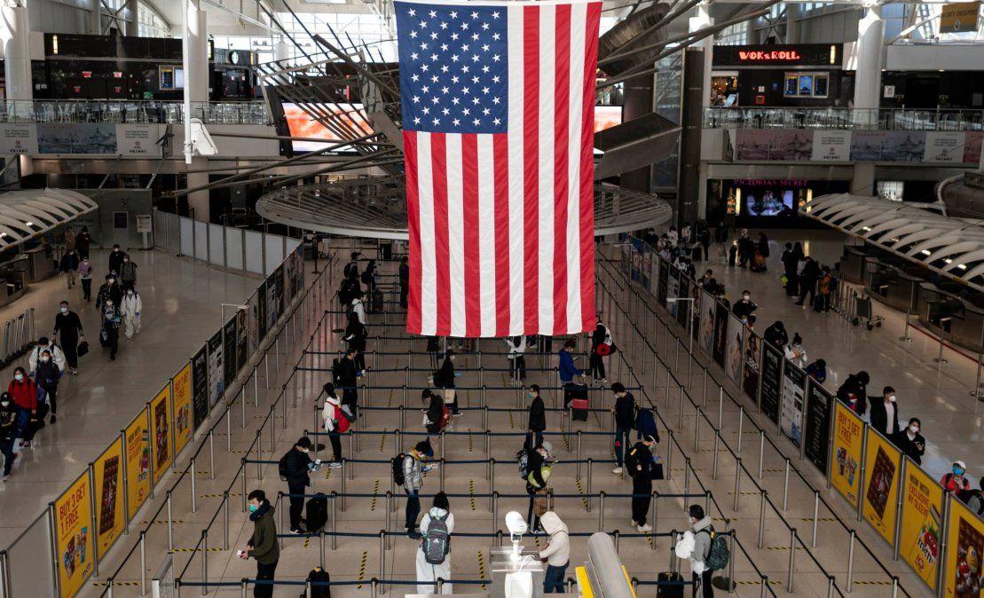 Estados Unidos cambió los requisitos para el ingreso de los extranjeros