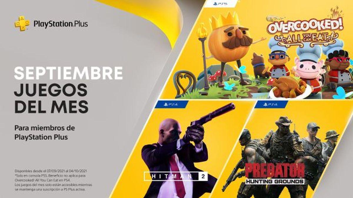 Ya están disponibles los juegos gratuitos de septiembre para PS Plus.