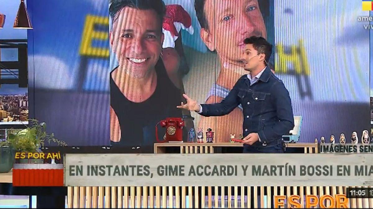 La primera reacción de Martín Bossi al enterarse del derrumbe en Miami