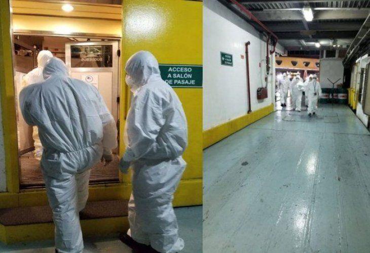 Un argentino que se escapó de una cuarentena provocó el aislamiento de 400 pasajeros de un barco