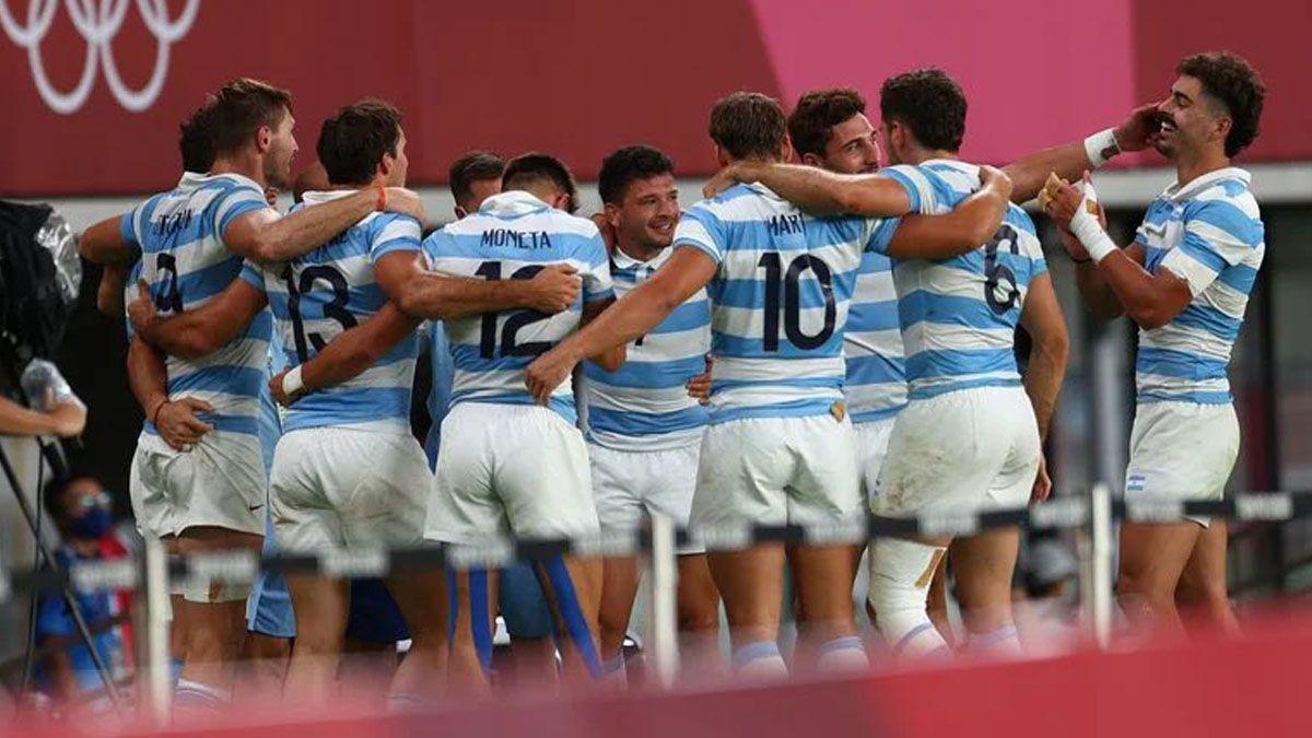 Los Pumas ganaron la medalla de bronce en rugby seven.